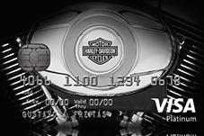 Harley Davidson Visa Card Motorrad Bild Idee