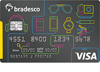 Bradesco Universitário Visa Internacional