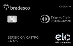 87b293d54d Cartão de Crédito Bradesco Corporate Elo Nanquim Diners Club
