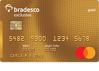 Bradesco Exclusive Mastercard® Gold