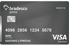 Bradesco prime cart o de d bito bradesco prime visa platinum Habilitar visa debito para el exterior